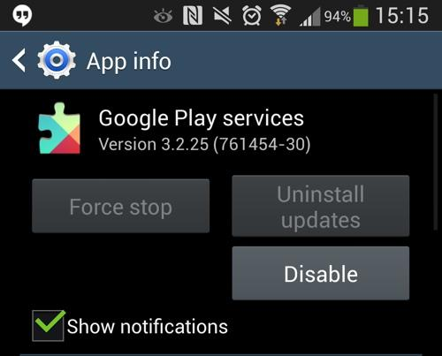 Google Play Services 3.2 update brings performance boosts