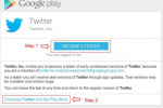 Google Play app beta program continues to expand with Twitter