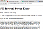 YouTube is down, it's not just you