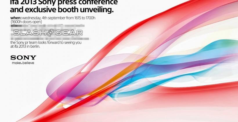 Sony event set for 4th of September: Honami, Lens Cameras, action cameras ahoy