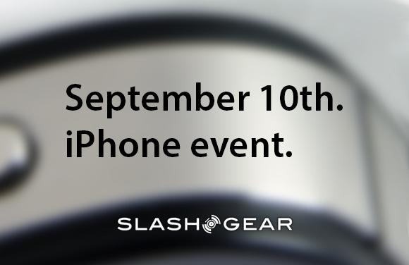 iPhone event September 10th: unofficial confirmations flow in
