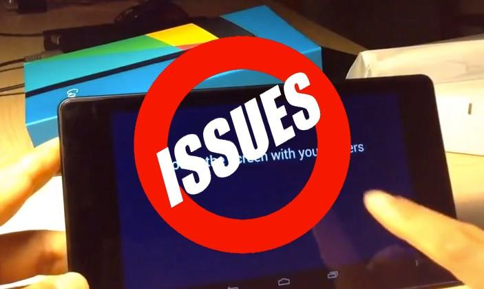 Nexus 7 software issues reported: here's what Google is working on