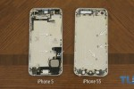 iPhone 5S Gold and Graphite shells appear in video with iPhone 5 structure comparison