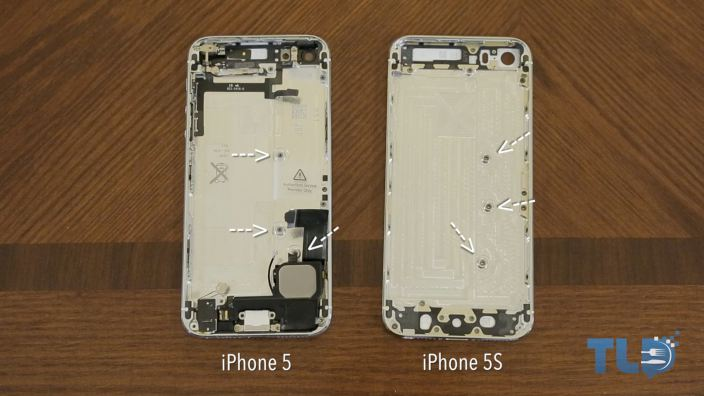 iphone 5 compared to iphone 5s iphone 5s gold and graphite shells appear in with 19302