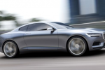 Volvo Concept Coupe features plug-in hybrid driveline and 1960s design elements
