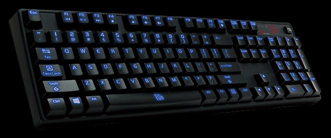 POSEIDON Illuminated mechanical gaming keyboard to launch this month