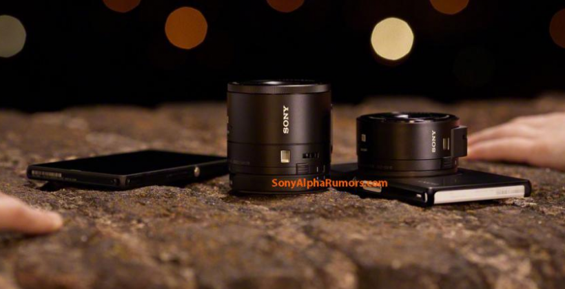 Sony Lens Cameras teased: attaching to all, from Xperia to iPhone