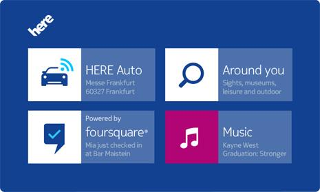 Nokia HERE Auto brings end-to-end solution to the dash
