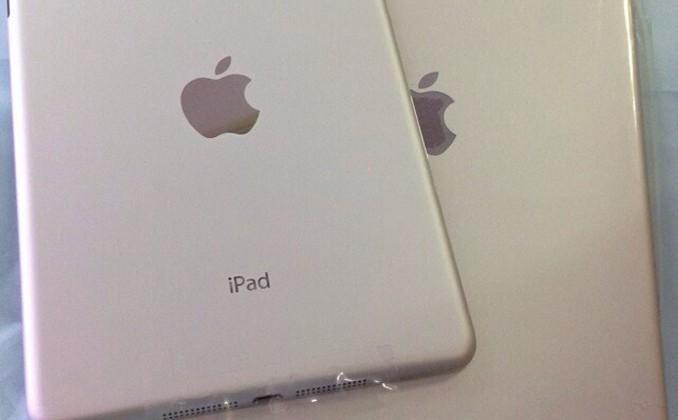 iPad 5 hardware panel appears vs iPad mini 2