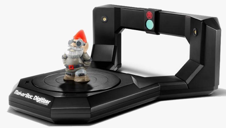 MakerBot Digitizer 3D scanner arrives for reverse 3D printing