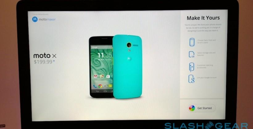 "Moto X Moto Maker customization debuts ""Made in USA"" smartphone"