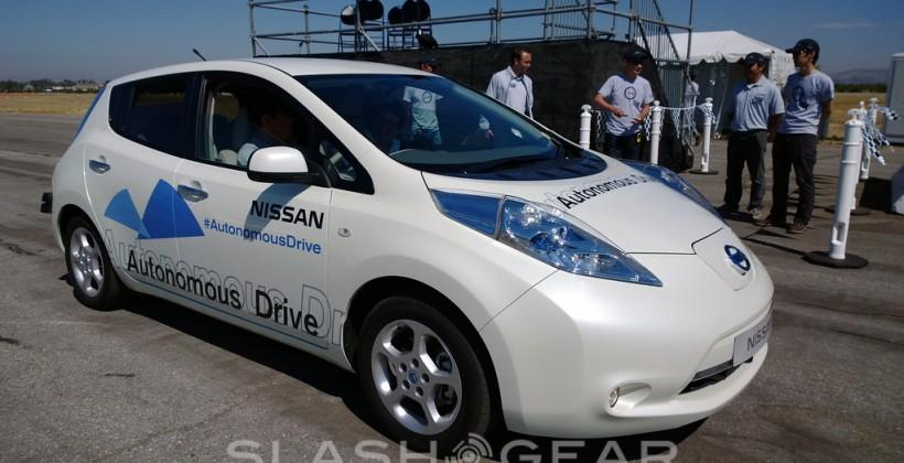 Nissan Leaf Self-Driving Car First-Drive
