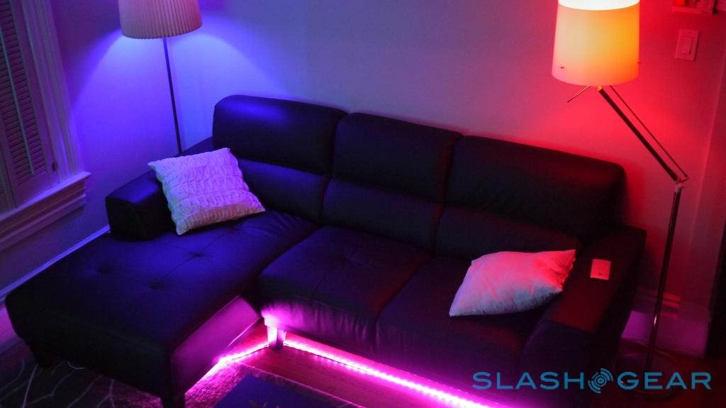 Philips hue LightStrips and Bloom Review - SlashGear