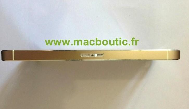 iPhone 5S gold edition surfaces in France