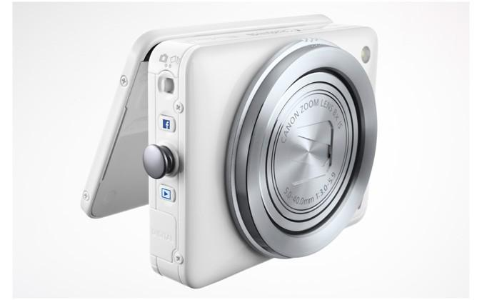 Canon PowerShot N is a Facebook-ready point-and-shoot