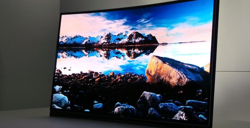 Samsung Curved OLED TV hits USA with split-screen Multi View technology