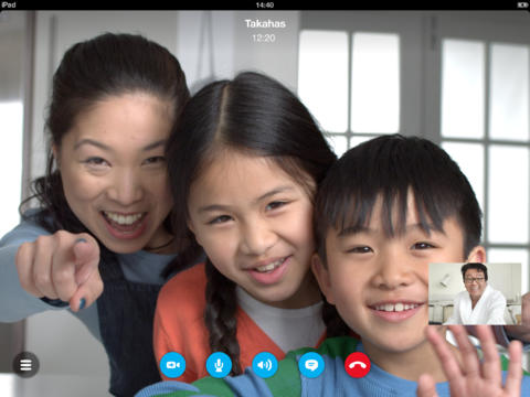 Skype update brings 720p video to Retina-display iOS devices