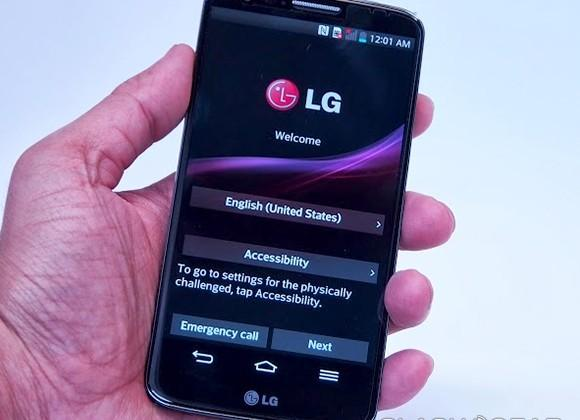 LG G2 Hands-on with benchmark tests