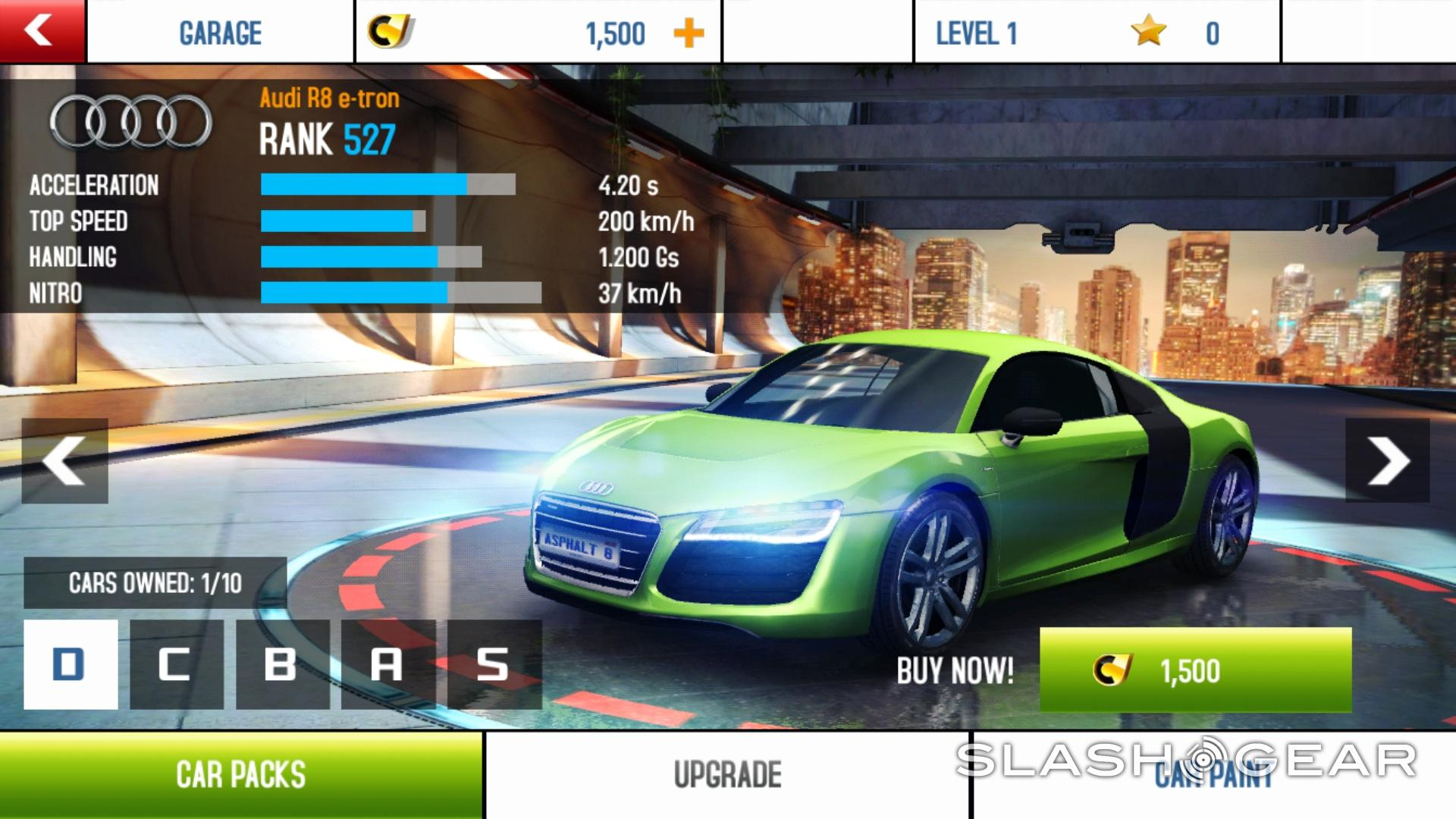 Asphalt 8: Airborne launches with NVIDIA SHIELD, Tesla Model