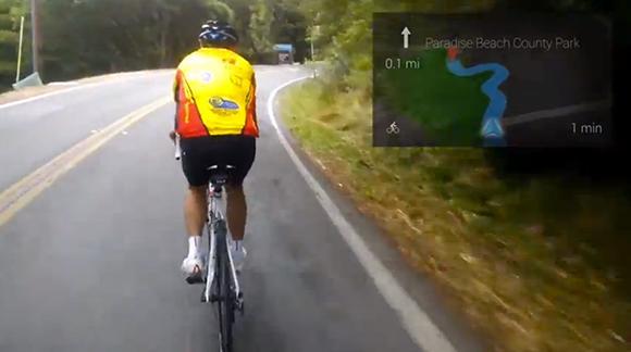 Google Glass navigation expansion demoed: walking, driving, biking