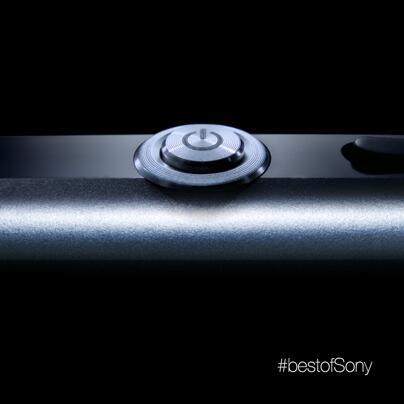 Sony Xperia Honami handset teased with power button photo