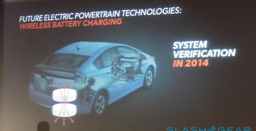 Toyota wireless EV charging testing in 2014 as 4th-gen Prius teased