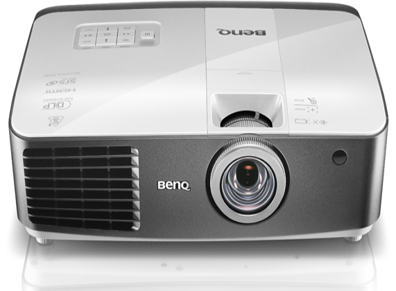 BenQ W1500 offers Full HD wireless video streaming with 3D support