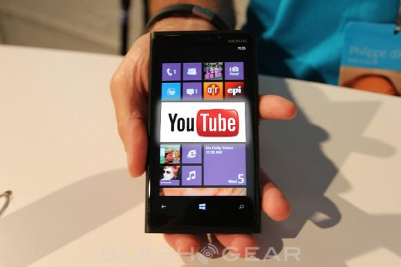 YouTube app has Google and Microsoft throwing punches over HTML5