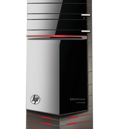HP Envy Phoenix 810 Gaming PC introduced with Core i7 Extreme and liquid cooling