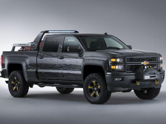 2014 Chevrolet Black Ops Silverado offers body armor, aims to take on the apocalypse