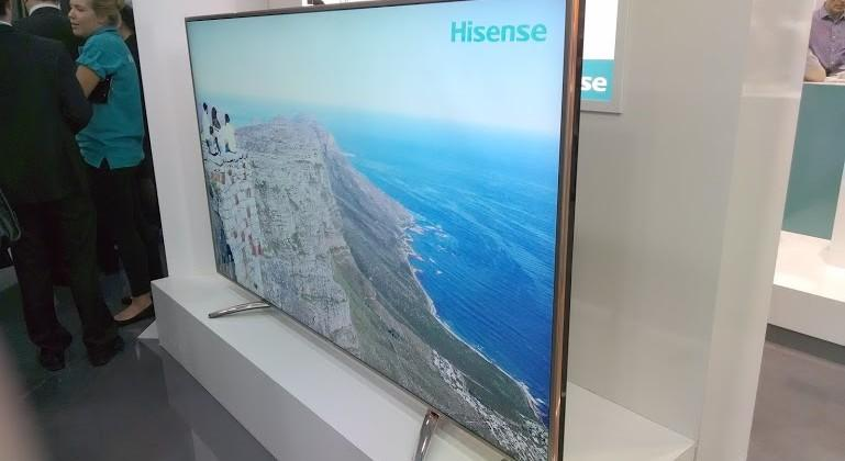 Hisense 110-inch 4K LED TV offers 120 Hz refresh rate