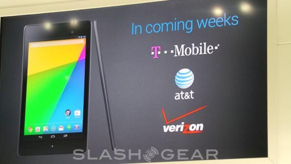 Nexus 7 LTE support muddled: T-Mobile now single headliner [UPDATE]