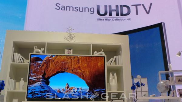 Samsung UHD F9000 series TV upscales everything to 4K
