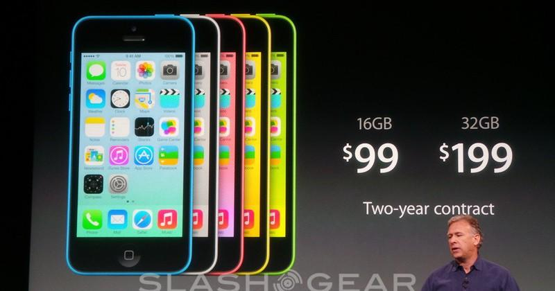 iPhone 5C official: replacing the iPhone 5