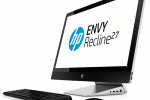 HP ENVY Recline 23 and 27 TouchSmart AIO fill the gap below the desk