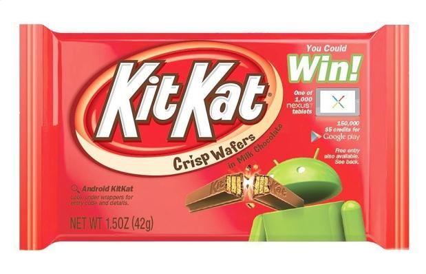 Android KitKat branding discussed by Hershey Vice President of U.S. Chocolate