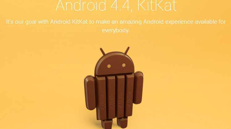 Android 4.4 KitKat teased with candy bar-themed statue