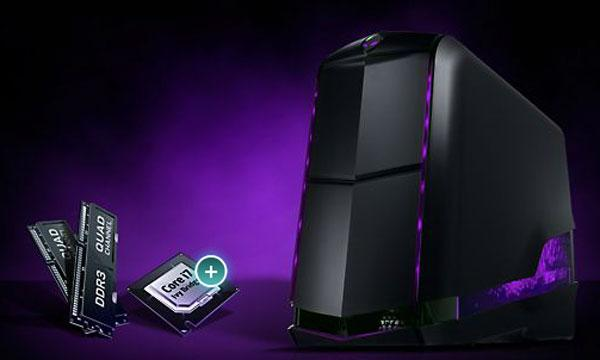 Alienware Aurora gaming desktop gets Intel Ivy Bridge-E and next gen graphics