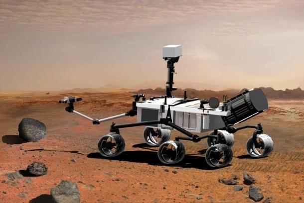 Curiosity Rover finds no evidence of methane on Mars