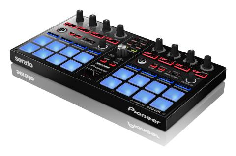 Pioneer DDJ-SP1 sub-controller is for Serato DJ software users