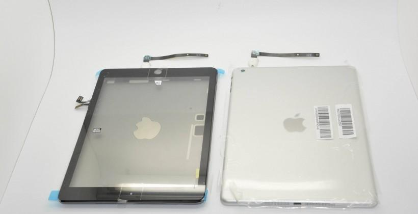 iPad 5 in Space Gray and Classic Silver: three tones in all