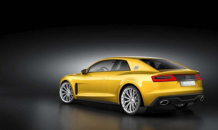 Audi Sport Quattro Concept revealed in Frankfurt