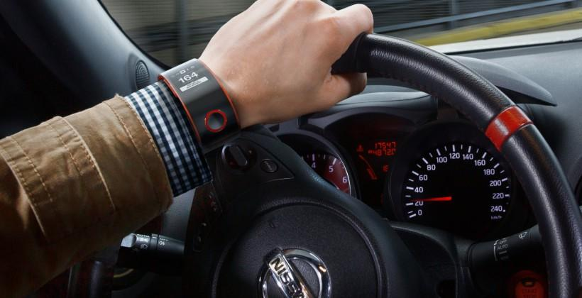 Nissan Nismo Concept Watch unveiled, monitors your health and social networks