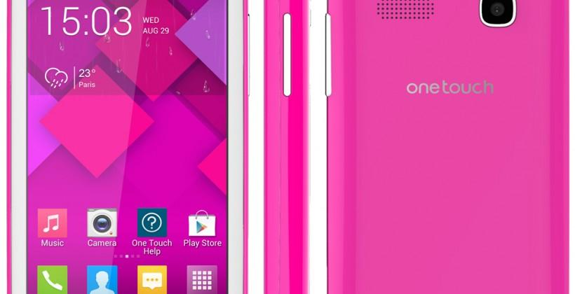 Alcatel One Touch Pop C-series brings the low-end spread