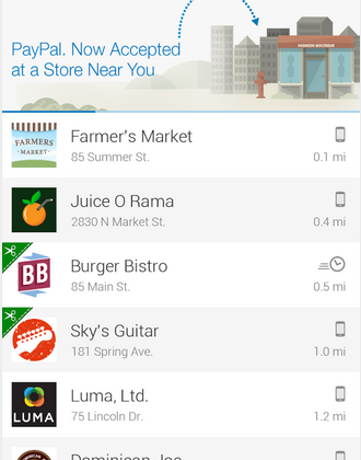 PayPal Android and iOS apps score major update with shop finder and redesign