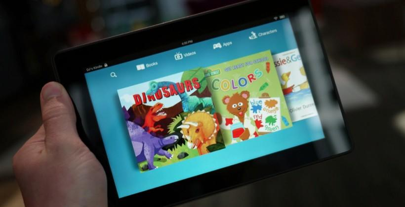 Kindle Fire HD reboot hits $139 price point with last year's specs