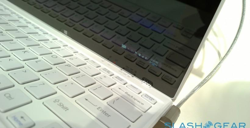 Sony VAIO Fit Multi-Flip ultrabooks hands-on