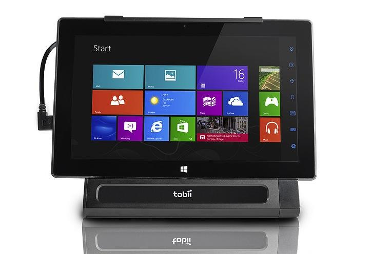 Tobii EyeMobile for Windows 8 frees tablets for eyes-only ...