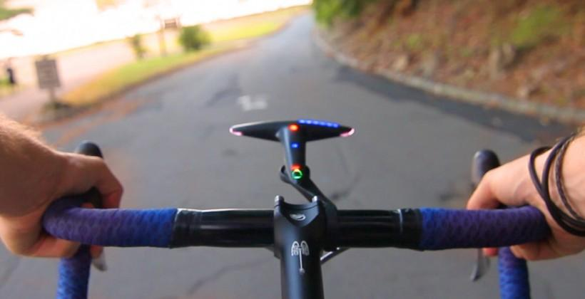 Hammerhead uses LED light array for bicycle navigation