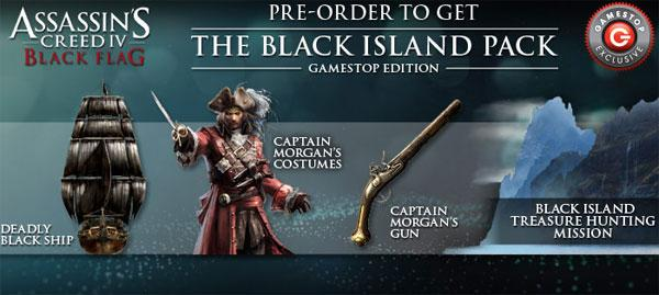 Assassin S Creed Iv Black Flag Pre Order Bonuses Tipped At